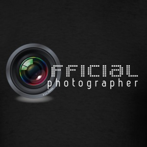 official canon nikon photographer - Men's T-Shirt