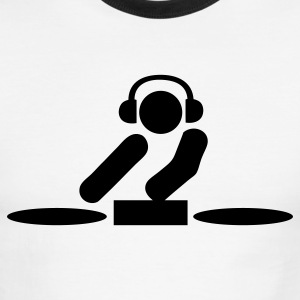 dj T-Shirts - Men's Ringer T-Shirt