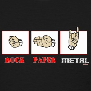 Rock paper METAL - Women's T-Shirt