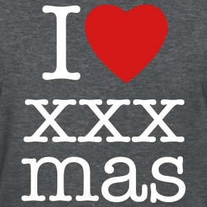 I love xxx Christmas t-shirts - Women's T-Shirt