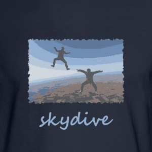 Skydive Sitflyers Long Sleeve Shirts - Men's Long Sleeve T-Shirt