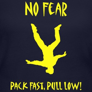 No Fear Pack Fast, Pull Low! - Women's Long Sleeve Jersey T-Shirt