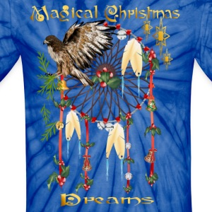 Magical Christmas Dreams - Unisex Tie Dye T-Shirt