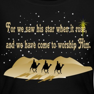 Three Wise Men Long Sleeve Shirts - Women's Long Sleeve Jersey T-Shirt