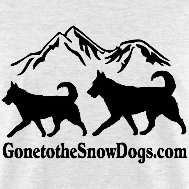 Two Huskies Men's T-Shirt