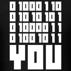 Fuck You - Binary Code T-Shirts - Men's T-Shirt