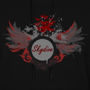 Skydive With Wings Hoodies - Women's Hoodie