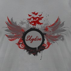 Skydive With Wings T-Shirts