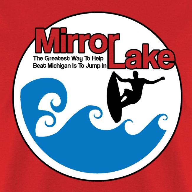 Mirror Lake Beat Michigan Tee