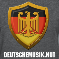 Design ~ DeutscheMusik.nut Womens Tshirt Black