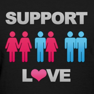 Support Love! - Women's T-Shirt