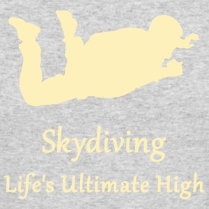 Skydiving Life's Ultimate High Long Sleeve Shirts - Men's Long Sleeve T-Shirt by Next Level