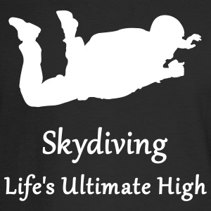 Skydiving Life's Ultimate High Long Sleeve Shirts - Men's Long Sleeve T-Shirt