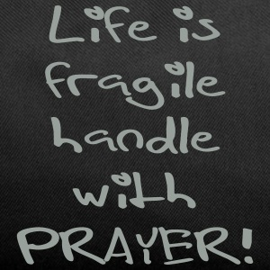 handle_with_prayer_life_is_fragile Bags  - Duffel Bag