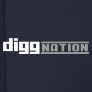 Design ~ Diggnation Zipper Hoodie
