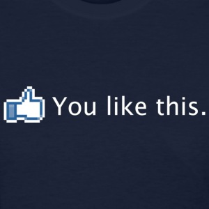 Facebook You Like This - White Women's T-Shirts - Women's T-Shirt