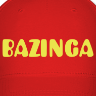 Design ~ BAZINGA Hat Cap