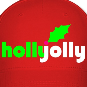 Holly Jolly Baseball Hat - Baseball Cap