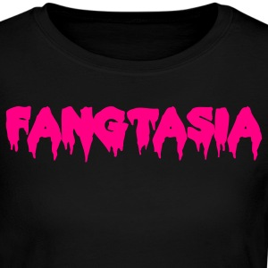 FANGTASIA vampire club font Long Sleeve Shirts - Women's Long Sleeve Jersey T-Shirt