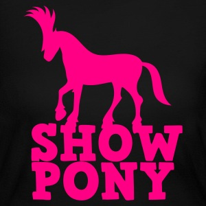 SHOW PONY Long Sleeve Shirts - Women's Long Sleeve Jersey T-Shirt