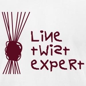 Line Twist Expert T-Shirts - Men's T-Shirt by American Apparel