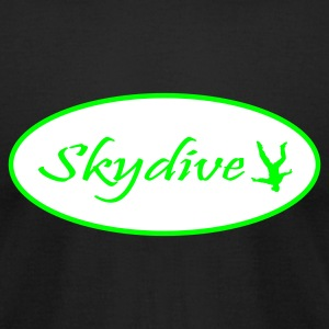 Skydive - Men's T-Shirt by American Apparel