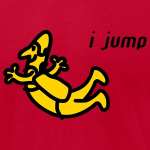 I Jump T-Shirts - Men's T-Shirt by American Apparel