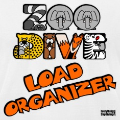 Zoo Dive Load Organizer T-Shirts