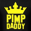 PIMP DADDY with kigs crown T-Shirts - Men's T-Shirt