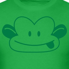 CUTE naughty monkey poking his tongue out  T-Shirts