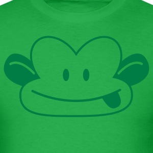 CUTE naughty monkey poking his tongue out  T-Shirts - Men's T-Shirt