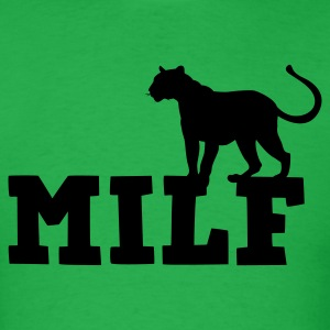 MILF with cougar (mom I'd like to F***) T-Shirts - Men's T-Shirt