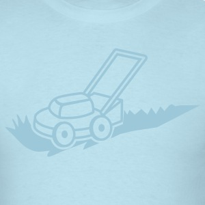 lawn mower mowing contractor cutting grass T-Shirts - Men's T-Shirt