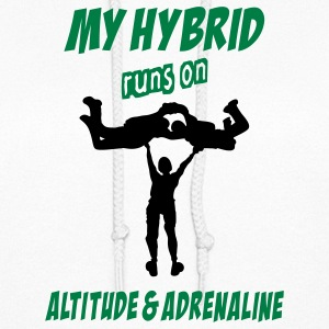 My Hybrid Runs On Altitude & Adrenaline - Women's Hoodie