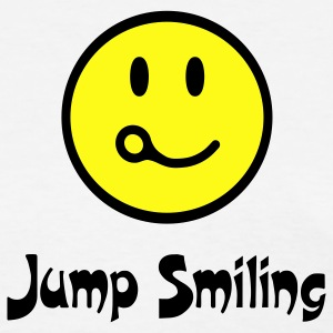 Jump Smiling - Women's T-Shirt