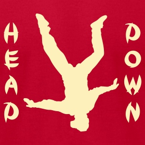 Head Down - Men's T-Shirt by American Apparel