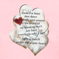 Design ~ Paper Heart T-Shirt