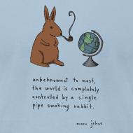 Design ~ pipe smoking rabbit - Mens color