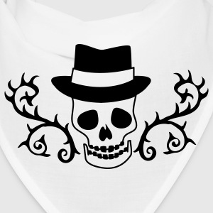 CREEPY SKULLY with TOP HAT Caps - Bandana
