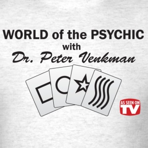World of the PSYCHIC B/W - Men's T-Shirt