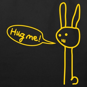 Hug me! Bunny Rabbit Hare Love Friendship Cute Bags  - Eco-Friendly Cotton Tote