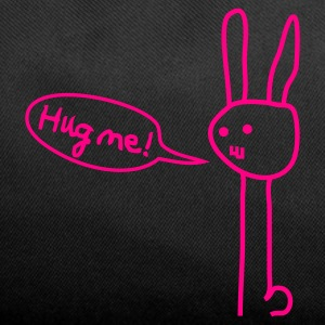 Hug me! Bunny Rabbit Hare Love Friendship Cute Bags  - Duffel Bag