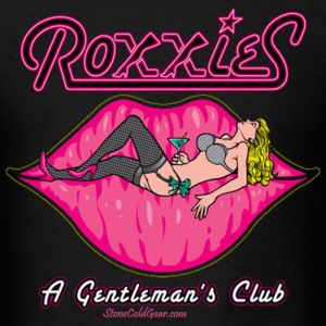 Roxies Gentalmens club  - Men's T-Shirt