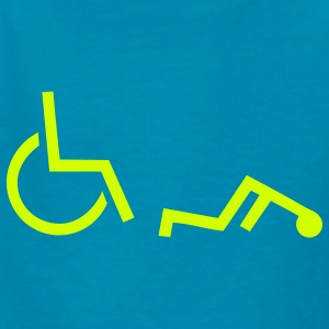 Wheelchair Kids' Shirts - Kids' T-Shirt