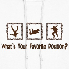 What's Your Favorite Position? Brown Hoodies