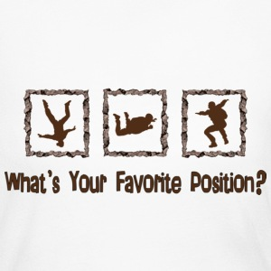 What's Your Favorite Position? Brown Long Sleeve Shirts - Women's Long Sleeve Jersey T-Shirt