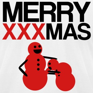 Merry XXXmas - Men's T-Shirt by American Apparel