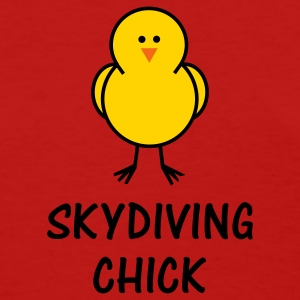 Skydiving Chick - Women's T-Shirt
