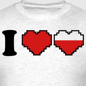 i love heart gamer and a half T-Shirts - Men's T-Shirt
