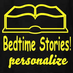 bedtime_stories-2 Kids' Shirts